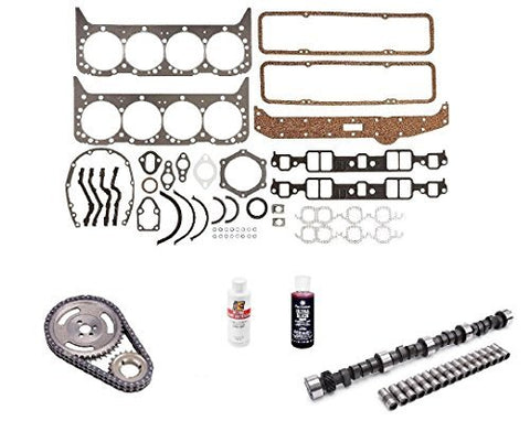 Engine Pro Small Block Chevy Stage 2 420/433 Lift Camshaft Install Kit