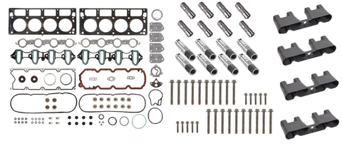 AFM/DOD Active Fuel Management Lifter Replacement Kit. Head Gasket Set, Head Bolts, Full Lifter Set, Lifter Trays. for 2007-2013 5.3L Engines