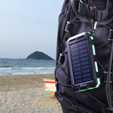 Solar Battery Dual Power-Bank CHARGER for SMARTPHONES - WaterProof w/ Built-in Lights & Compass - Thirsty Buyer - 6