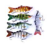 "6-Jointed ""Life like"" Smash'em Fishing Lures - Value 5 pack"
