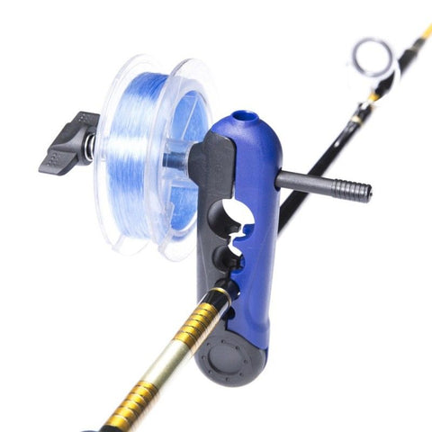 """Pocket Portable"" In-Line FISHING LINE SPOOLER - Spool on the Fly! NEW!"