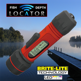"Quick ""FLASH"" Pocket Portable Depth & Fish Locator w/ Brite-Lite Technology"