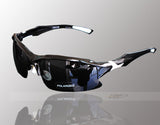Professional Polarized Cycling/Athletics SunGlasses (Swiss Technology) - Black -  - 1