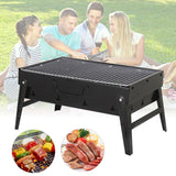 "Foldable ""Suitcase"" Charcoal BBQ Grill"