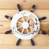 Wooden Boat Ship Fisherman Steering Wheel Nautical Wall Piece - Thirsty Buyer - 5