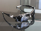 Professional Polarized Cycling/Athletics SunGlasses (Swiss Technology) - Black -  - 2