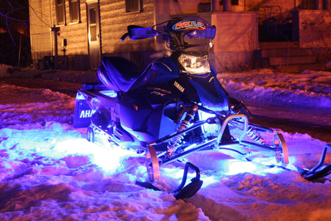 HIGH PERFORMANCE Snowmobile 18-Color LED Neon Lighting 6-Pack w/ BONUS Wireless Remote - NEW - Thirsty Buyer - 1