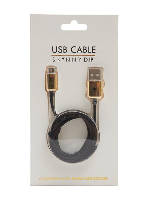 Black Micro USB Cable
