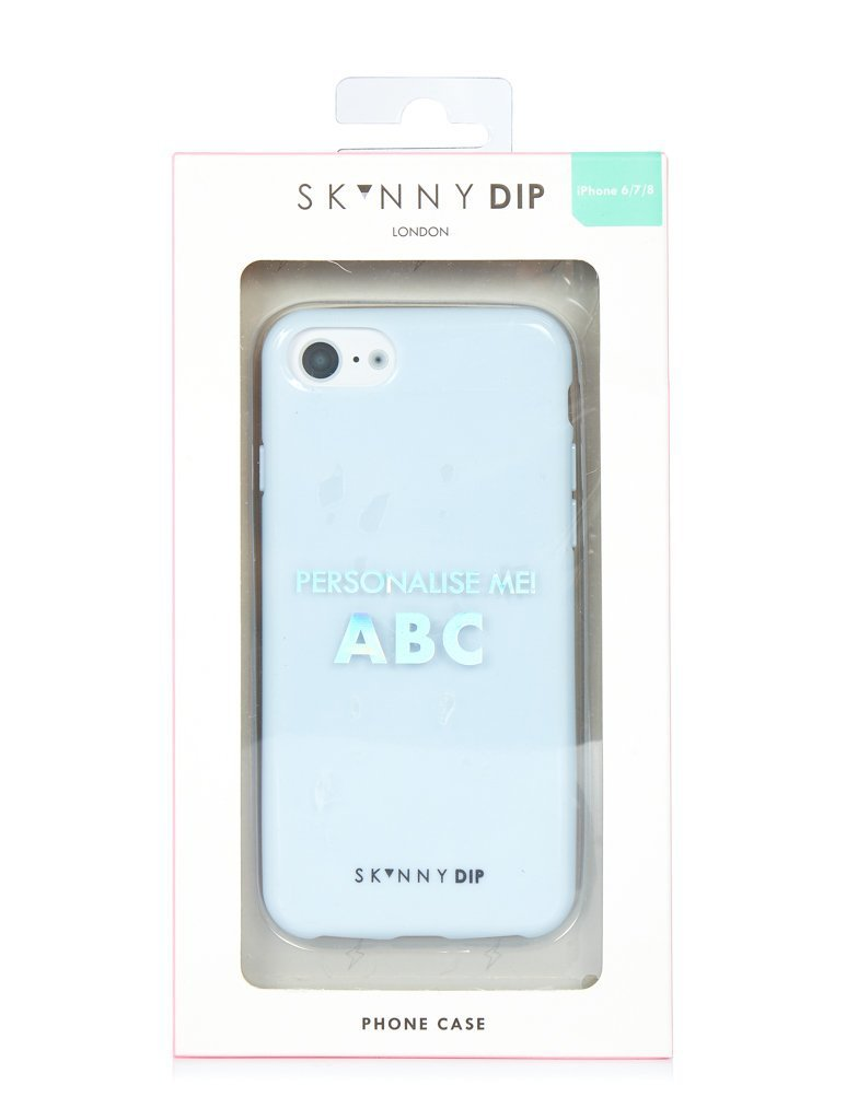May Blue Stickers Case