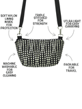 Anatomy of a Traveler Bum Bag and Small Cross body Bag by Tutenago