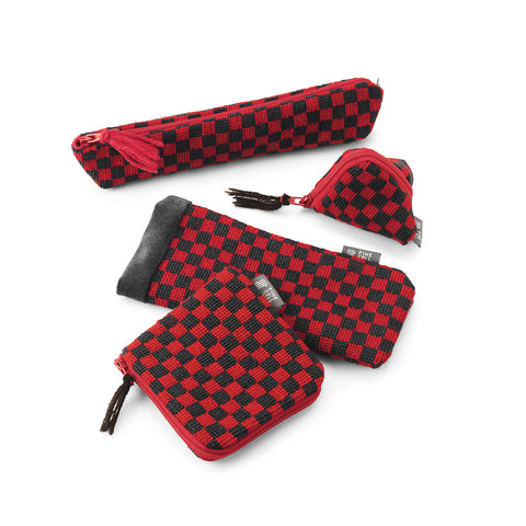 Piccadilly Chequerboard Earphone Pouch