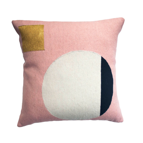 Pink Geometric Throw Pillows