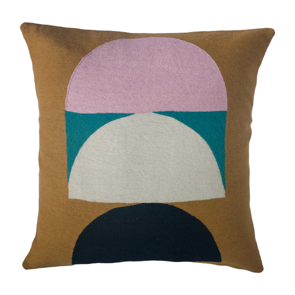 VIOLA OCHRE PILLOW
