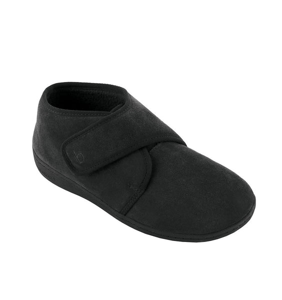 """BIOTIME"" Men's Ariel Slipper (Black)"