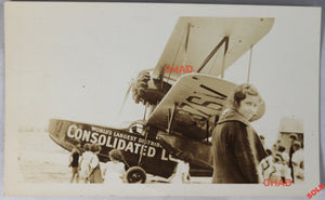 @1934 photo Consolidated Lobster Co. MA. Loening flying boat #2