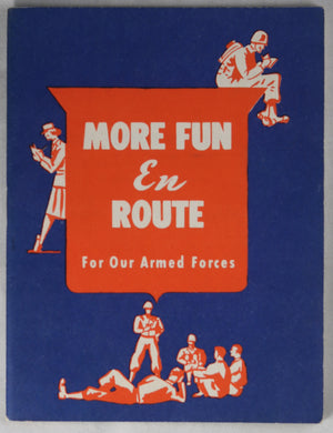 WW2 US Armed Forces puzzle book from Firestone Corp.1944