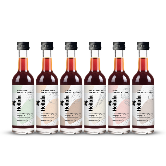 NEW EXCLUSIVE Flavored Vanilla Extract Set (6 Pack)