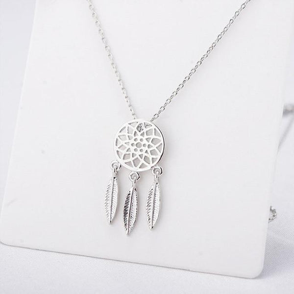Enchanted Forest Dreamcatcher Necklace