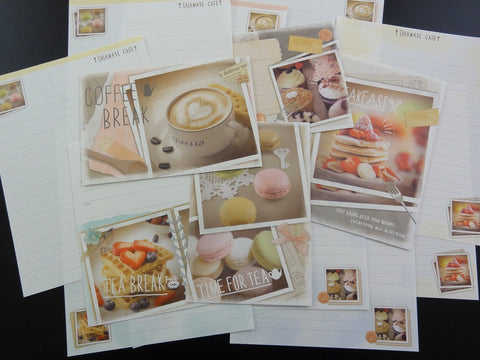 Crux Breakfast Tea and Coffee Break Letter Sets