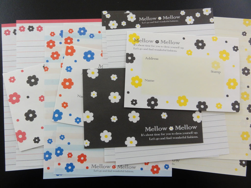 Cute Kamio Kamio Flower Mellow Letter Sets
