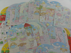 Sanrio Hello Kitty Little Twin Stars My Melody Cinnamoroll Memo Note Paper Set - stationery writing