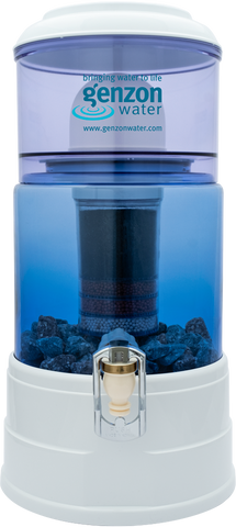5 Litre Glass bottom Genzon water purifier