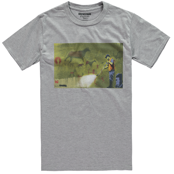 Banksy Cave Painting Men's T-shirt