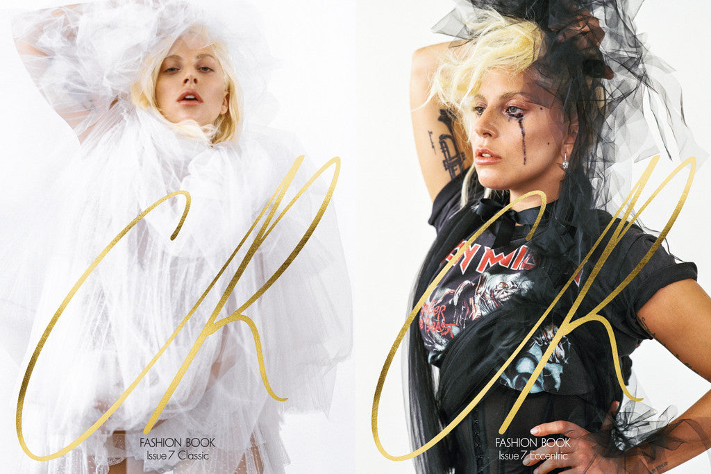 CR Fashion Book #7 LADY GAGA Lara Stone KAIA GERBER Candice Huffin NINA AGDAL