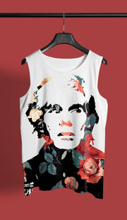Warhal Floral All-Over-Print Unisex Tank - Devious Elements Apparel