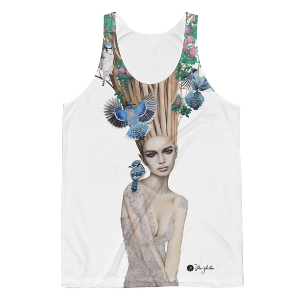 Bloom All-Over-Print Unisex Tank - Devious Elements Apparel