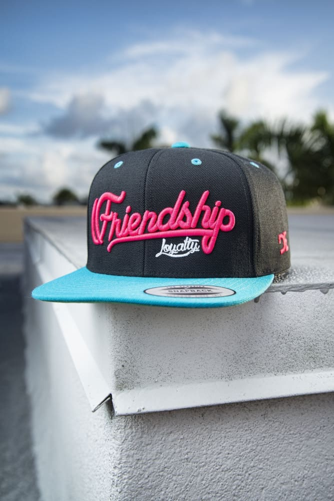 Loyalty Friendship Snapback Miami Vice - Devious Elements Apparel