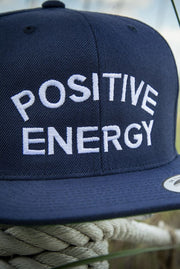 Positive Energy High Profile Snapback Hat - Devious Elements Apparel
