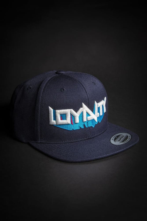 Loyalty 3D Block Letters Snapback - Devious Elements Apparel