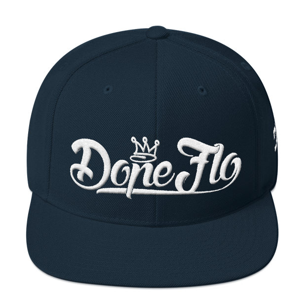 Dope Flo Snapback Hat - Devious Elements Apparel