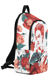 Frida Floral Print Laptop Backpack - Devious Elements Apparel