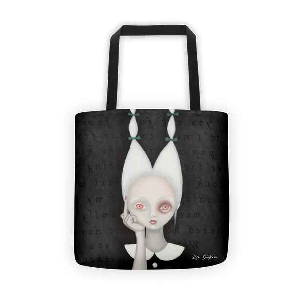 Silly Wabbit Print Tote Bag - Devious Elements Apparel