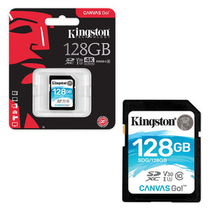 Memoria SD kingston 128gb 90mb/s