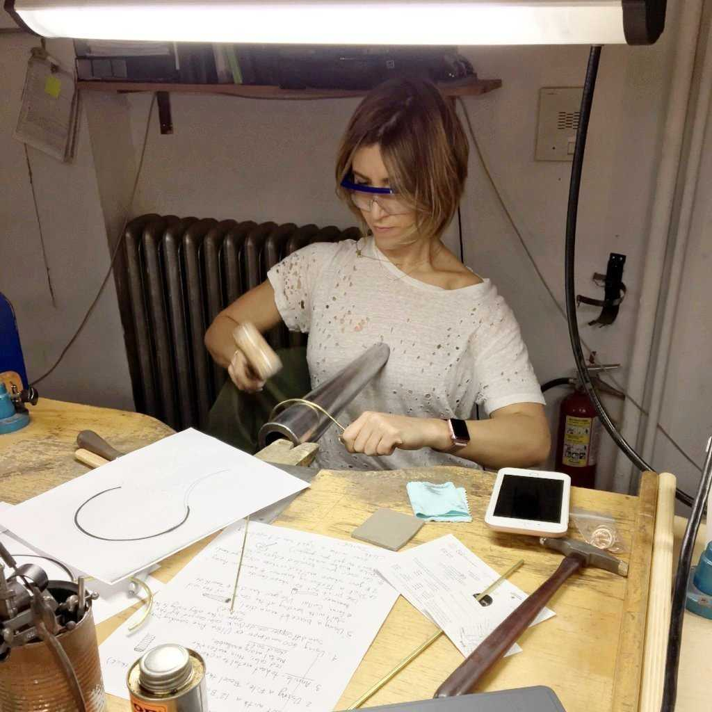 BYOB COLLAR WORKSHOP - WORKSHOP - <meta char - Fitzgerald Jewelry - Handmade in Williamsburg, Brooklyn, NYC