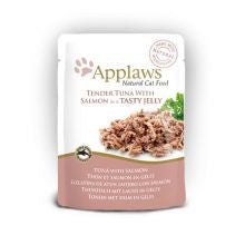 Applaws Pouch Jelly Tuna & Salmon 16 x 70g - Pet Products R Us