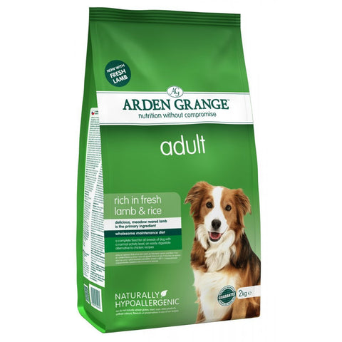 Arden Grange Adult Lamb & Rice - Pet Products R Us