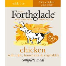 Forthglade Adult Complete Chicken With Tripe & Brown Rice 18 x 395g