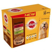 Pedigree Pouch Mixed Varieties in Gravy 100g x 12