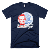 Abraham Lincoln shirt (Navy)