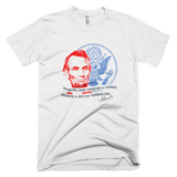 Abraham Lincoln shirt (White)