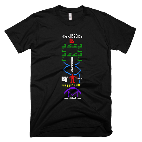 Arecibo Interstellar Message tee shirt