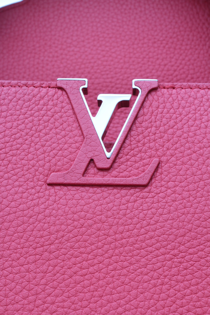 Louis Vuitton Limited Edition Capucines MM Leather and Python Bag