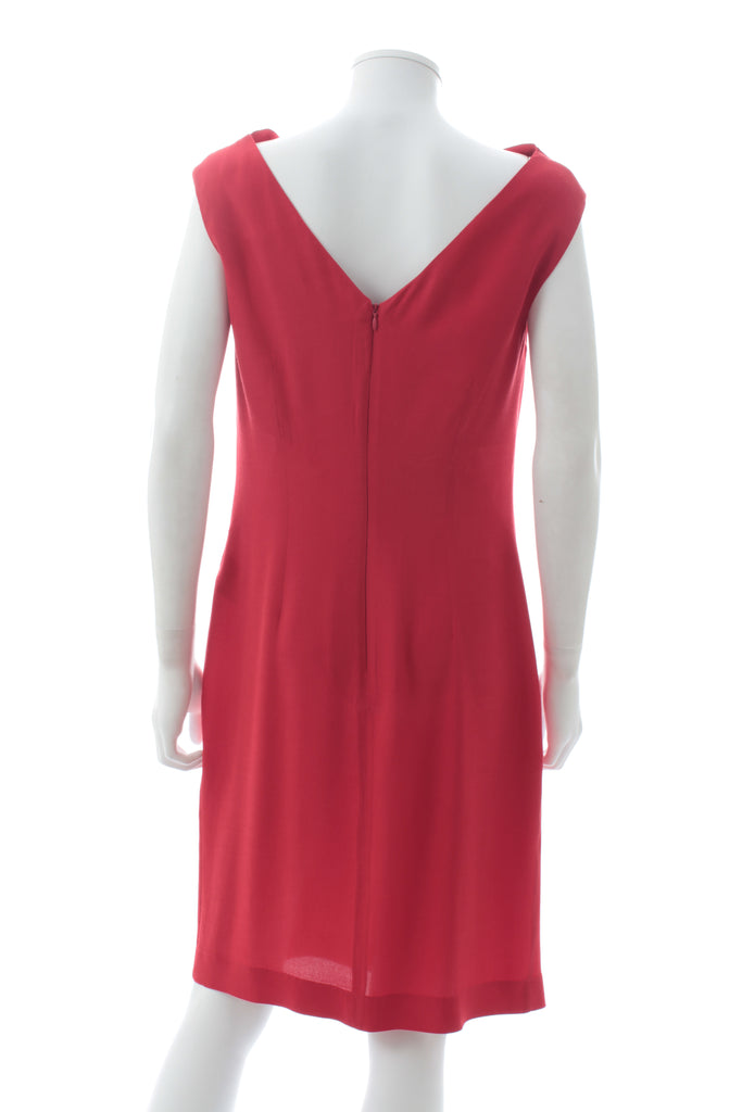 Vivienne Westwood Anglomania Silk Draped Dress