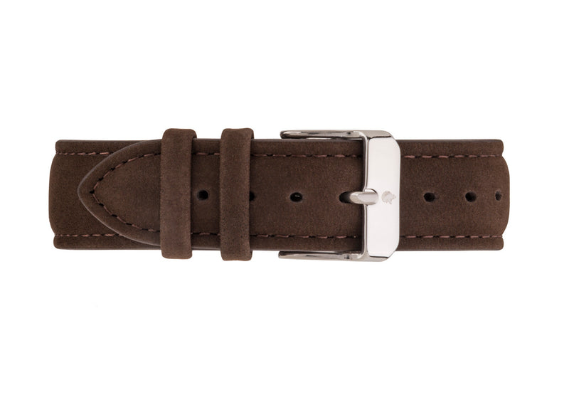 Brown Suede Strap - Burtley & Baines  - 2
