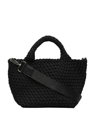 St Barths Mini Tote Bag in Onyx