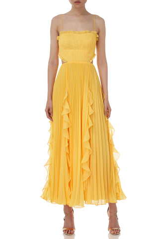 Rayna Dress in Yellow